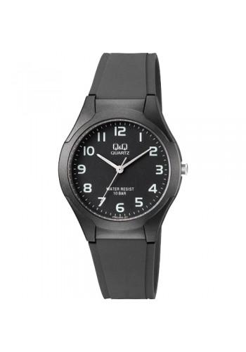 VR92J002Y  Мъжки часовник Q&Q - силиконова каишка в черно