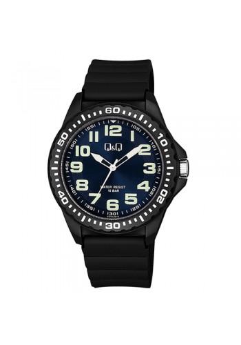 VS16J010Y - Универсален УНИСЕКС часовник Q&Q черен силикон