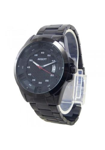 2162-2  Мъжки часовник  AKSEPT  с метална верижка
