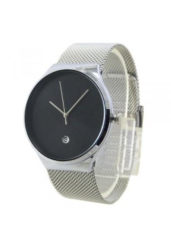2172-1  Мъжки часовник  AKSEPT  с метална плетена верижка