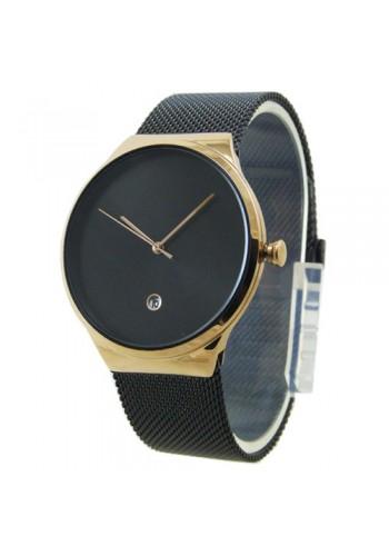 2172-3  Мъжки часовник  AKSEPT  с метална плетена верижка