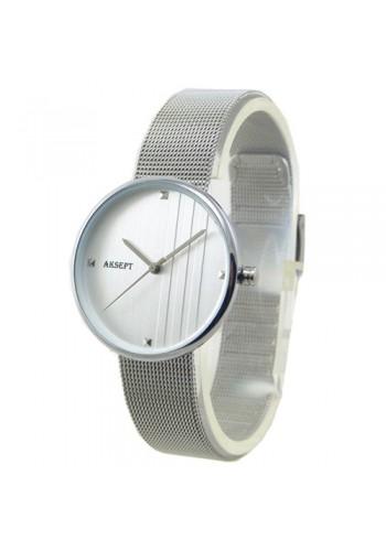 2155-3  Дамски часовник  AKSEPT  с метална верижка