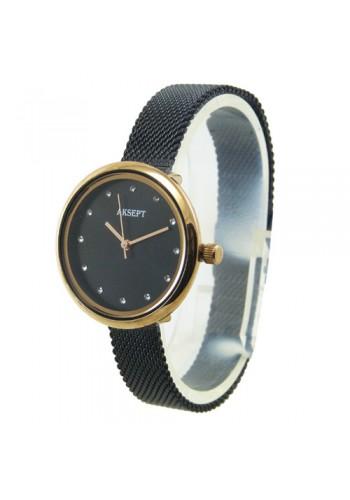 2157-4  Дамски часовник  AKSEPT  с метална верижка