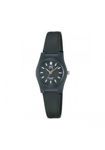 VQ03J005Y - УНИВЕРСАЛЕН  часовник Q&Q черен - силиконова каишка