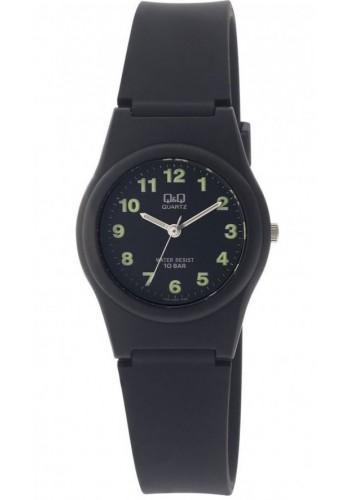 VQ81J003Y - УНИВЕРСАЛЕН  часовник Q&Q черен - силиконова каишка